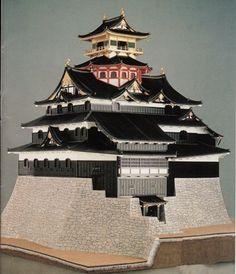 安土城 模型 - Google 検索 Japanese Castle, Architecture, Building, Castles, Lego, Interior, Google, Arquitetura, Chateaus