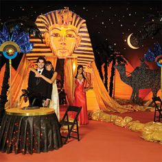 Night on the Nile Complete Theme | Prom Nite