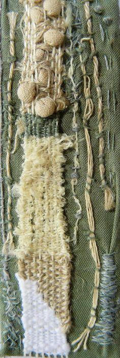 Weaving & hand stitch AS Tex Olivia
