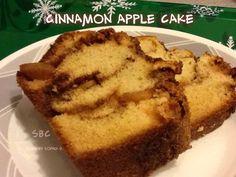 CINNAMON APPLE CAKE!!!