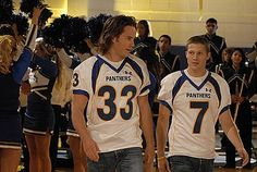 Tim Riggins & Matt Saracen -Friday Night Lights       both of these boys makes my heart happy... haha