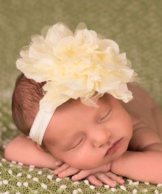 The Tiny Blessings Boutique Ivory Crinkle Chiffon & Mesh Headband Girls Out, Kids Girls, Tiny Blessings, Getting Back In Shape, Bow Accessories, Glam Girl, Newborn Baby Photography, Crinkles, Little Princess