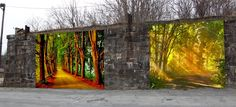 outdoor mural - Google Search
