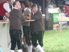 Cute Bavarian Boys in Lederhosen