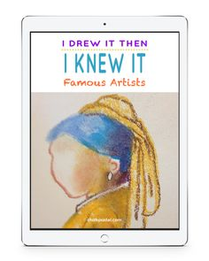Free Art Lessons for All Ages - Hodgepodge Chalk Pastel Art, Chalk Pastels, Chalk Art, Famous Artists, Great Artists, Art Room Doors, Grandma Moses, Preschool Art, Amigurumi