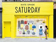 Kate Spade Saturday 24-Hour Window Shops on Behance
