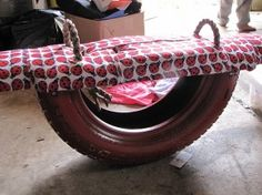 DIY Tire Rocker For Kids...