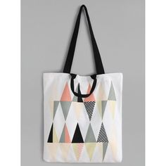 To find out about the Diamond Pattern Canvas Tote Bag at SHEIN, part of our latest Shoulder & Tote Bag ready to shop online today! Geek Girls, Printed Bags, Diamond Pattern, Tote Handbags, Canvas Tote Bags, Purses And Bags, Reusable Tote Bags, Shoulder Bag, Shoe Bag
