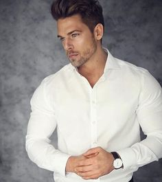Jossmooney. Man Crush, Fitness Inspiration, Hot Guys, Shirt Dress, Mens Fashion, Mens Tops, How To Wear, Shirts, Shopping