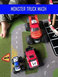 Monster truck (letter) mash for those more high energy kids Learning Letters, Alphabet Activities, Learning Games, Educational Activities, Kids Learning, Teaching Boys, Fun Activities For Kids, Learning Tools, Literacy Activities