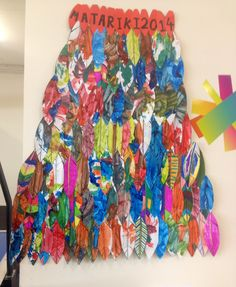 Matariki korowai Art show Eagle feathers Kinder soars Preschool Crafts, Diy Crafts For Kids, Art For Kids, Arts And Crafts, Maori Symbols, International Craft, Maori Designs, Nz Art, Maori Art