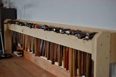 Hammer rack - South House Silver Workshop Trust Shetland