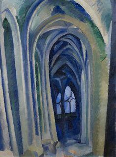 Robert Delaunay, Saint-Séverin, 1909