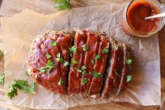 How to make a delicious sauce for meatloaf using only 4 basic ingredients. This recipe can easily be adapted to fit your personal taste. Meatloaf Sauce, Meatloaf Recipes, Sauce Recipes, Beef Recipes, Chicken Recipes, Healthy Pesto, Meat Loaf, Personal Taste, Recipes