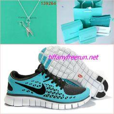 $68.93 Cheap and cute Nike Free Run Tiffany Blue Black Scissors Tiffany & CO Necklace