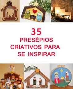 Prepare-se para o Natal e comece a decorar a casa! Veja ideias de presépios criativos, diferentes e originais e faça você mesmo gastando pouco.