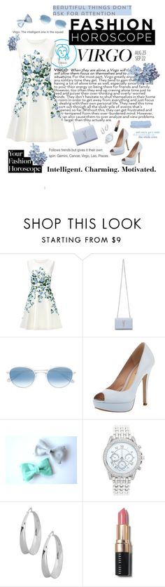 """""""I am proudly a Virgo"""" by melliflusous ❤ liked on Polyvore featuring ERIN Erin Fetherston, Yves Saint Laurent, Garrett Leight, Pour La Victoire, Lane Bryant, Robert Lee Morris, Bobbi Brown Cosmetics, fashionhoroscope and stylehoroscope"""