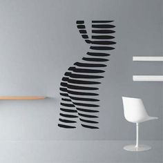 Abstract Female Body Wall Decal by TrendyWallDesigns on Etsy, $19.95