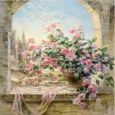 Resultado de imagem para flores porcelanizadas passo a paso
