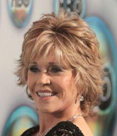 Celebrity hairstyles: Jane Fonda