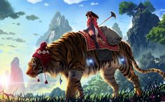 amazing anime backgrounds | Wallpaper: amazing tiger wallpaper