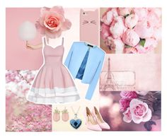 """""""Pastel Pink"""" by neha16100 ❤ liked on Polyvore featuring moda, Kate Spade, Jaeger y Sophia Webster"""