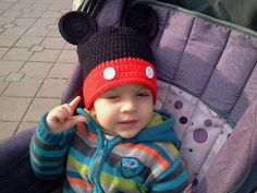 Items similar to Crochet Mickey Mouse Hat in Black,Red with Ears for baby Any size and colour combination-new born-Photo Prop on Etsy Crochet Mickey Mouse, Mickey Mouse Hat, Unique Crochet, Disney Trips, Vintage Black, Photo Props, Color Combinations, Crochet Patterns, Winter Hats