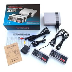 Cheap electronic toys, Buy Quality toys electronic directly from China electronic game Suppliers: NES mini video game console 8 Bit Video Game Built In 600 childhood Classic Games 2 Handle control Games Consoles electronic toy Nintendo Ds, Super Nintendo, Nintendo Switch, Nintendo Games, Classic Nes Games, Nes Classic Mini, Classic Video Games, Classic Tv, Tv Game Console