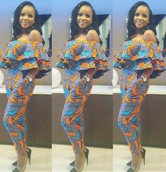 African Jumpsuits for Women, African Fashion, Ankara Jumpsuit, African Jumpsuit, African Clothing African Fashion Designers, African Inspired Fashion, African Print Fashion, Africa Fashion, Fashion Prints, Ankara Fashion, Men's Fashion, Woman Fashion, Fashion Styles