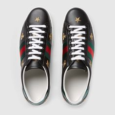 a6c48fac4 Ace embroidered sneaker. Gucci SneakersAdidas SneakersShoes ...