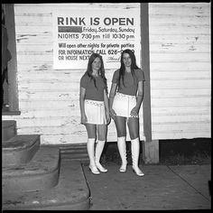 Bill Yates, courtesy of the Ogden Museum Sweetheart Roller Skating Rink - 1972-1973 - Six Mile Creek, Hillsborough County (Tampa) FL