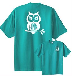 Preppy Owl Monogram Shirt