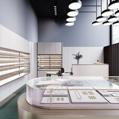 Jewelry store on Behance