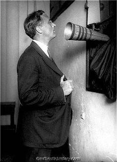 """Franklin D. Roosevelt recording """"Americanism"""" 1920"""