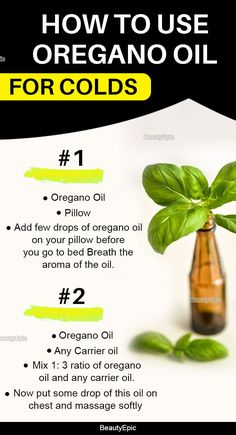 As per many experts oil of oregano is one of the best natural products to treat cold. Let us read to know how to use oregano oil for colds. Essential Oil Still, Essential Oils For Anxiety, Essential Oil Uses, Oregano Oil For Colds, Oregano Oil Benefits, Oil For Cough, Herbs For Depression, Herbs For Anxiety, Helichrysum Essential Oil