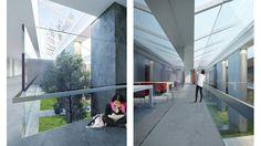Интерьер школы  #school #schoolinterior #interior #concrete