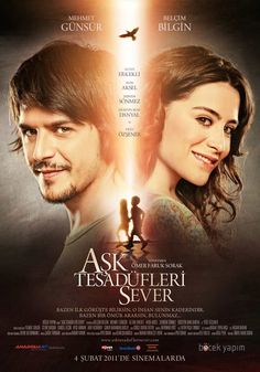 Ask Tesedufleri Sever / Love likes coincidences Film Movie, Film D, Series Movies, Movies And Tv Shows, Tv Series, 2011 Movies, Hd Movies, Photoshop, About Time Movie