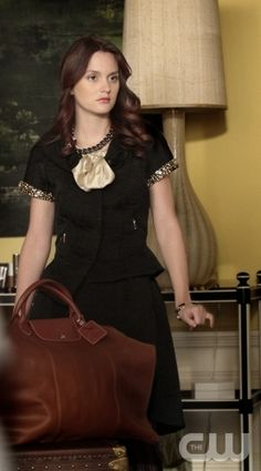 """The Kids Are Not All Right""--  Pictured  Leighton Meester as  Blair Waldorf in GOSSIP GIRL"