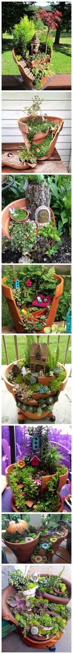 Creative ideas for flower pots. PS. for more inspirations, pls visit us at http://www.facebook.com/zosomart