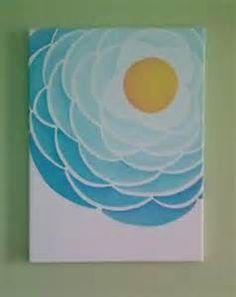DIY canvas art   Crafts & DIY