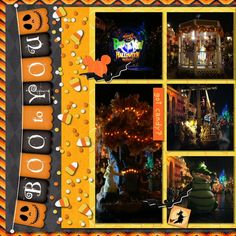 Boo to You too *love this banner with the jack-0 lanterns and also enjoying the candy corns. fun stuff Halloween