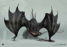 call of cthulhu Alien Concept Art, Creature Concept Art, Creature Design, Fantasy Monster, Monster Art, Fantasy Creatures, Mythical Creatures, Dragons, Beast Creature