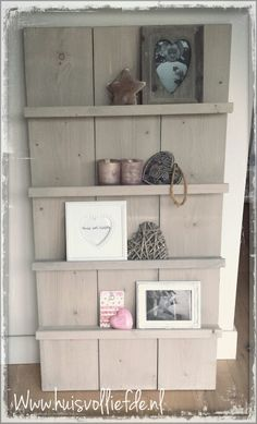 1000 images about muur deco on pinterest old windows about heart and brocante - Grijze muur deco ...