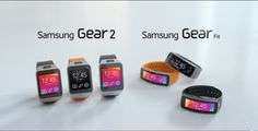 Samsung just released a video that walks you through their three new wearable devices, the Samsung Gear Gear 2 Neo and Gear Fit. Wearable Computer, Wearable Device, Wearable Technology, Samsung Galaxy S5, Firefighter Gear, E Textiles, Watch Deals, Gear 2, Best Smart Watches