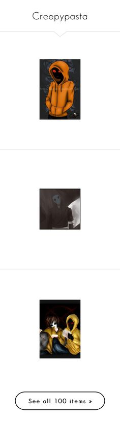 """""""Creepypasta"""" by beautiful-people-everywhere ❤ liked on Polyvore featuring home, kitchen & dining, creepypasta, laughing jack, jeff the killer, people, pictures, anime, art and extra"""