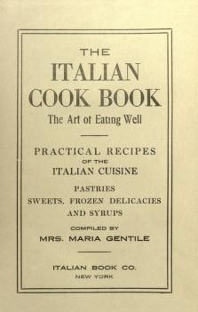 The Italian Cook Book : the Art of Eating Well ...  Pinterest | https://pinterest.com/elcocinillas/