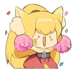 Miho Monster Super League Monster Super League, League Gaming, Boku No Hero Academy, Pikachu, Fan Art, Minis, Cute, Cartoons, Fictional Characters