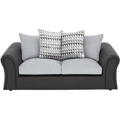 Sofa BedSleeper Sofa Linear Seater Scatterback Compact Sofa liked on Polyvore featuring home
