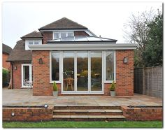 6 Excellent Tips: Patio Roofing Bricks roofing texture house.Roofing Ideas For Pergola black roofing house exterior. Roof Extension, Extension Ideas, Orangery Extension, Roofing Options, Roofing Materials, Roof Lantern, Fibreglass Roof, Residential Roofing, Roof Styles