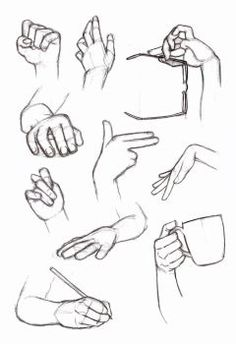 Copy's and Studies: Hands 5 by HIRVIOS